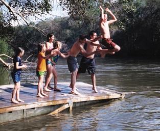 Annual river trip