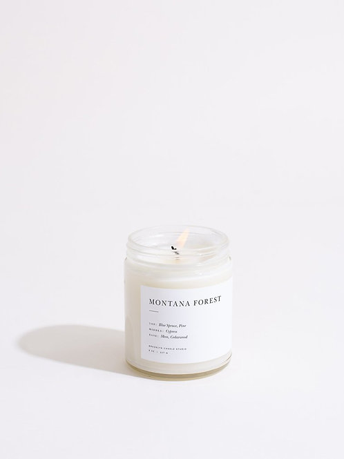 MINIMALIST CANDLE / 07 MONTANA FOREST