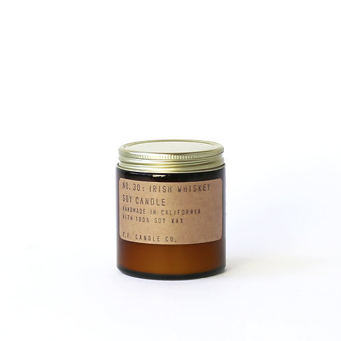 3.5oz Soy Wax Candle / 30 IRISH WHISKEY