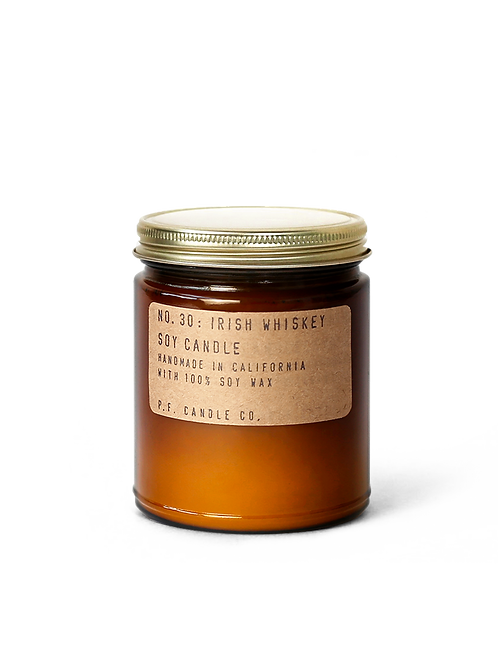 7.2oz Soy Wax Candle / 30 IRISH WHISKEY