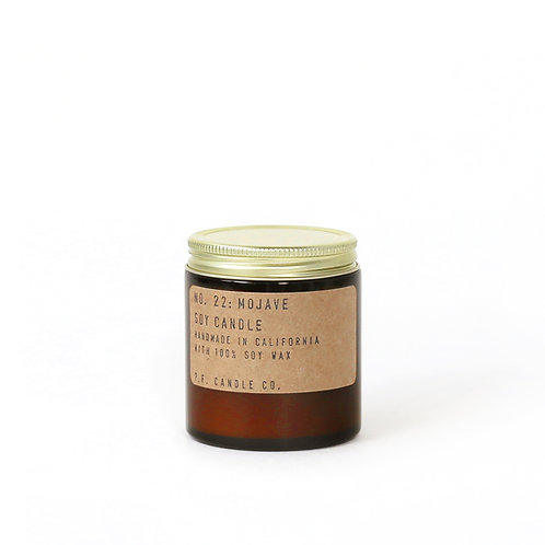 3.5oz Soy Wax Candle / 22 MOJAVE