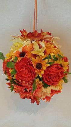 Decorative flower ball.