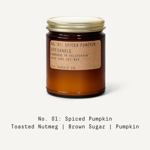01 Spiced Pumpkin