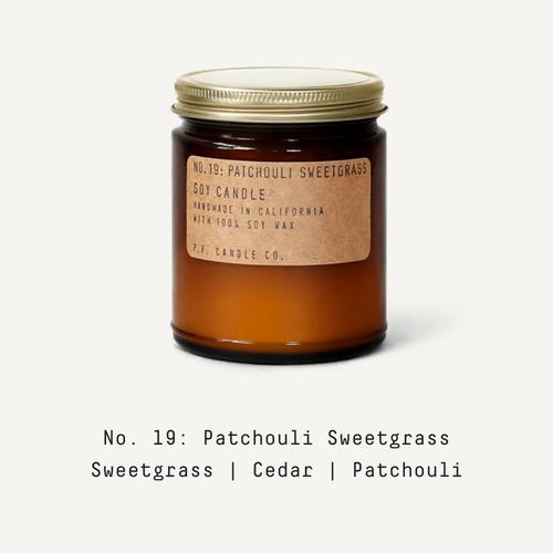 19 Patchouli Sweetgrass
