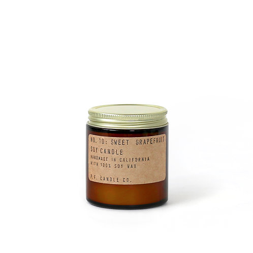 3.5oz Soy Wax Candle / 10 SWEET GRAPEFRUIT