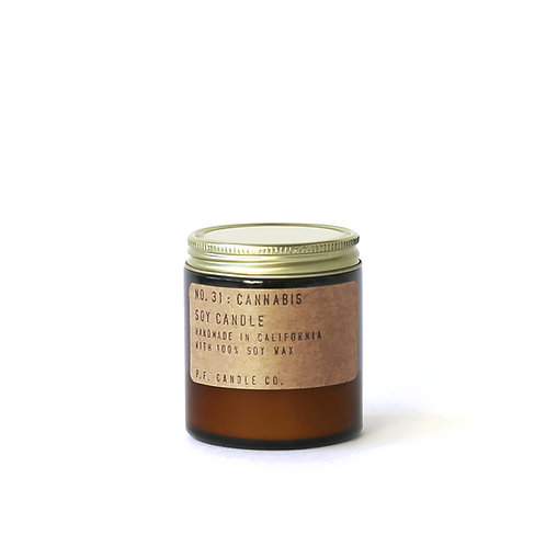 3.5oz Soy Wax Candle / 31 CANNABIS