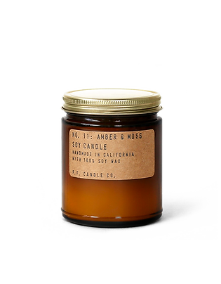 7.2oz Soy Wax Candle / 11 AMBER&MOSS