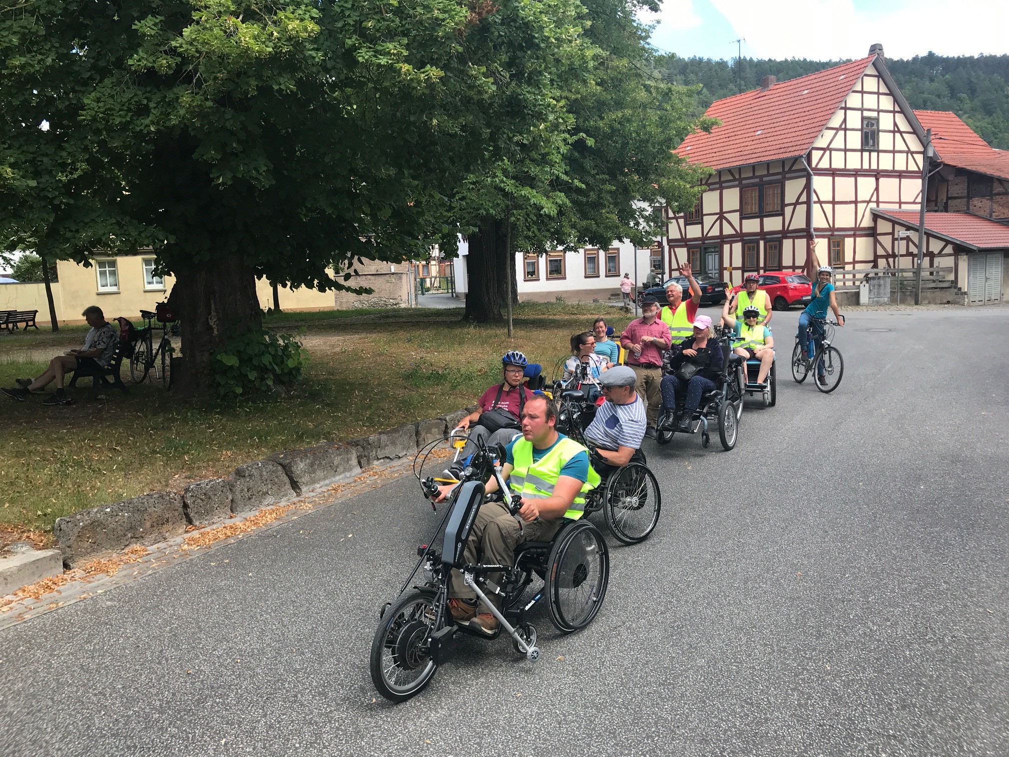 Radtour in Halle