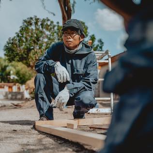 Comienza la conservación de viviendas en Lasana..