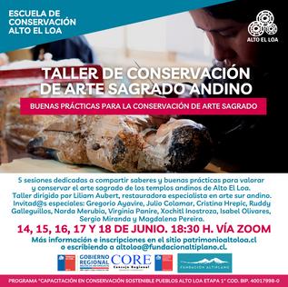 Conservación de Arte Sagrado Andino…