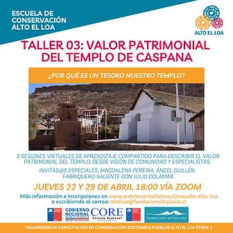 Taller 03_Valor Patrimonial del templo d