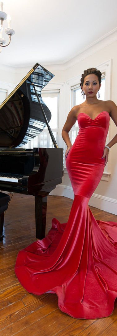 Editorial_Red Gown_Piano_MarcusIsaac_DSC