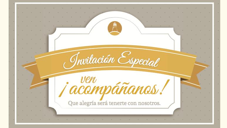 Invitación Especial - Tarjeta Personalizada