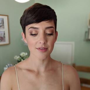 Charlotte Tilbury inspired bridal makeup
