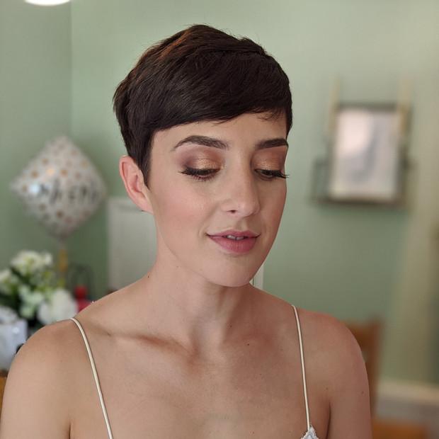 Charlotte Tilbury Pillowtalk bridal makeup