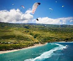Gleitschirmfliegen La Réunion