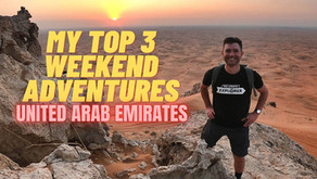 February 10, 2021 // My top 3 weekend adventure picks // United Arab Emirates