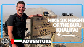 Hiking // How to hike to the highest public point in the United Arab Emirates at Jebel Jais // UAE