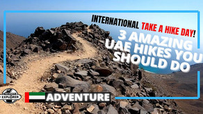 Hiking // Three amazing hikes to do in the United Arab Emirates // UAE