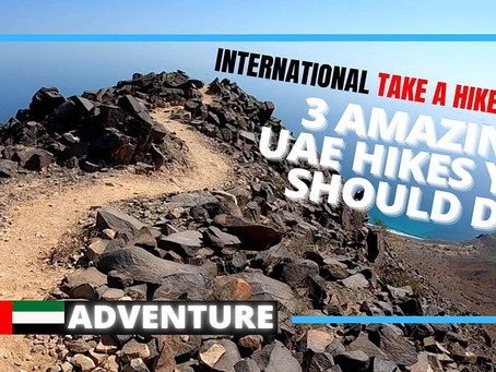 Hiking // Three amazing hikes to do in the United Arab Emirates // UAE
