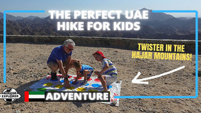 Hiking // A perfect hike for the whole family at Wadi Shawka // United Arab Emirates