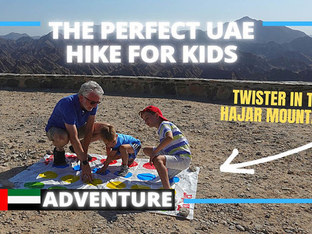 Hiking // A perfect hike for the whole family at Wadi Shawka // United Arab Emirates