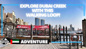 Walking // Discover Dubai's origins with this Dubai Creek walking loop // United Arab Emirates