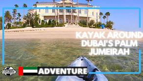 Kayaking // How to kayak Palm Jumeirah in Dubai // UAE