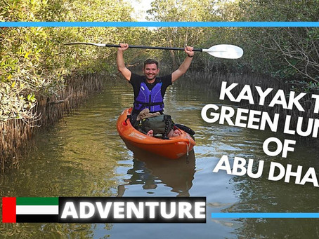 Kayaking // Why you should kayak the Abu Dhabi Mangroves // UAE