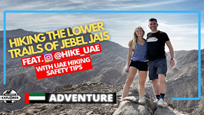 Hiking // Explore the lower trails of Jebel Jais // United Arab Emirates