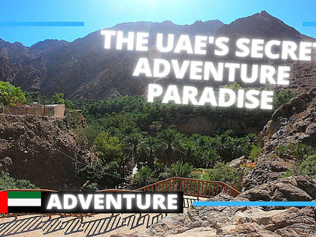 Adventure // 3 amazing adventures to explore in Khor Fakkan // United Arab Emirates