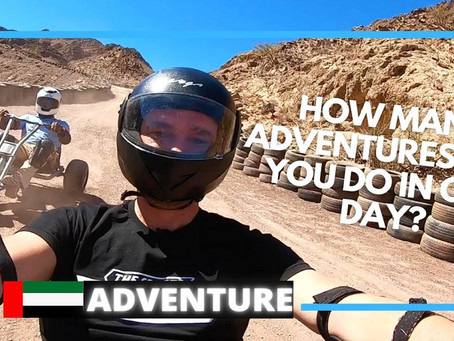 5 amazing adventures to do at Hatta Wadi Hub in 2020 // UAE