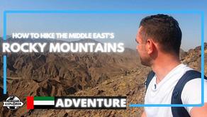 Hiking // How to hike the Wadi Shawka trail in Ras Al Khaimah // UAE