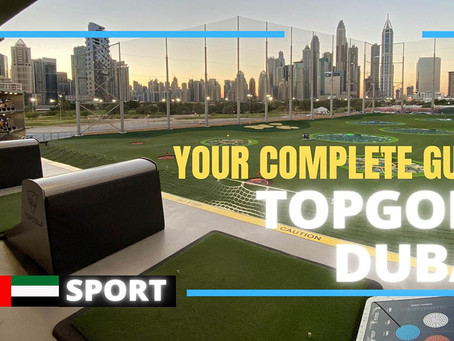 Golf // Dubai's new Topgolf experience is the perfect mix of sport and socialising // UAE