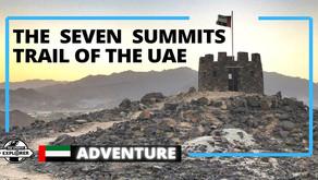 Adventure // Explore the Seven Summits trail in Fujairah // United Arab Emirates