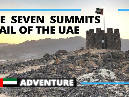 Adventure // Explore the Seven Summits trail in Fujairah // United Arab Emirates