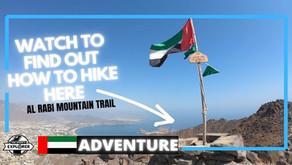 Hiking // How to hike the Al Rabi Tower summit trail in Sharjah // UAE