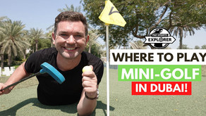 Golf // Where to hit the 'fairways' and play outdoor mini-golf in Dubai in 2020 // UAE