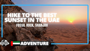 Hiking // 5 reasons to hike Fossil Rock in Sharjah // United Arab Emirates