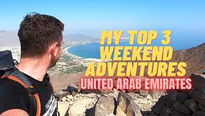 February 18, 2021 // My top 3 weekend adventure picks // United Arab Emirates