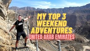 February 25, 2021 // My top 3 weekend adventure picks // United Arab Emirates