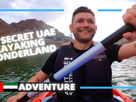 Kayaking // Alkhor Kayak is a wonderful kayaking experience // UAE