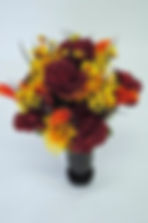BurgundyRose&OrangeCallaLilyMix_DSCN1872
