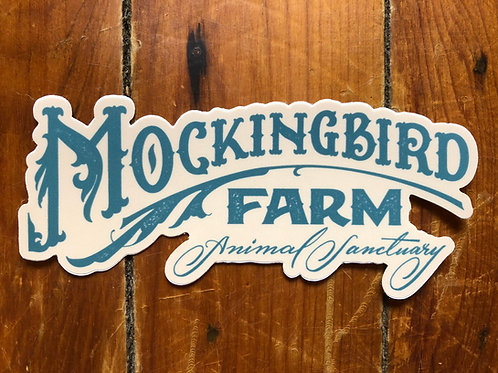 Mockingbird Farm Sticker