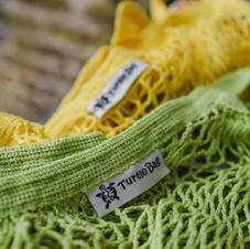 Lime and Yellow Turtle Bag