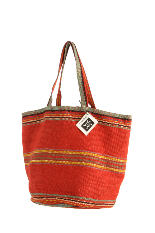 Red Beach Bag | Wholesale and retail supply of organic cotton ...