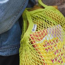 Long Lime Turtle Bag