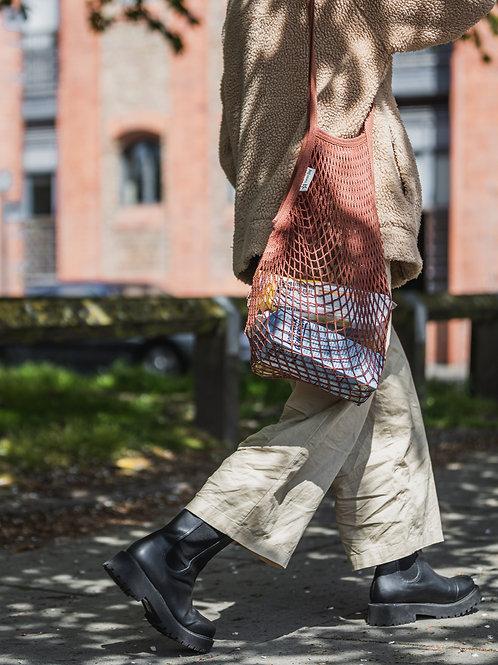 Botanical Dyes Long Handled String Bag (Pack of 10)