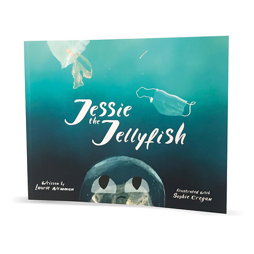 Jessie The Jellyfish Children's Book