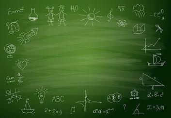 chalkboard background for school marketi